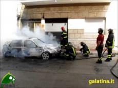 Galatina. Golf in fiamme