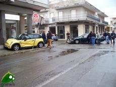 Incidente fra via Liguria e via Marche